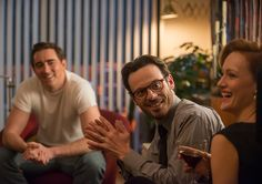 Joe MacMillan (Lee Pace), Gordon Clark (Scoot McNairy) and Donna Clark (Kerry Bishé) in Episode 3 Photo by Richard DuCree/AMC