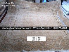 260L square silk on silk rug #carpet#rug#persiancarpet#persianrug