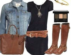 so cute!  Love the brown and black color combo!