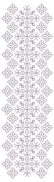 Blackwork Bookmark Stitching Pattern Set por StitchingWithRetta Kasuti Embroidery, Cross Stitch Embroidery, Embroidery Patterns, Cross Stitch Patterns, Bordado Tipo Chicken Scratch, Chicken Scratch Embroidery, Blackwork Patterns, Cross Stitch Bookmarks, Cross Stitch Pictures