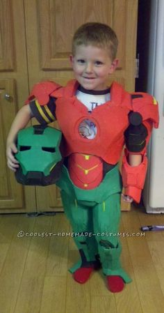 Coolest Homemade Iron Man Toddler Halloween Costume  sc 1 st  Pinterest : ironman costume toddler  - Germanpascual.Com