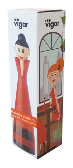 Stunning salt or pepper mill grinder which is also suitable for small dried herbs and spices.