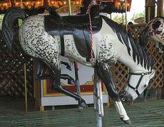 Buffalo Wyoming Cowboy Carousel - Bucking Bronco
