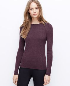 I guess I should get more business clothes.  Like this sweater that Ann Taylor put in the work tops section.