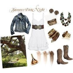 My First Polyvore creation:  Summer Date Night, created by hmwise08