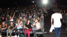 """Avant-première """"Les nouvelles aventures d'Aladin"""" à Kinepolis Nîmes le 17/09/2015 en présence de Kev Adams et William Lebghil"""