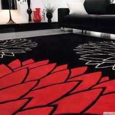Mi piace l'idea di un grande tappeto colorato