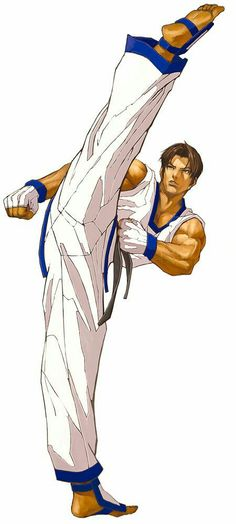 Kim Kaphwan from King of Fighters