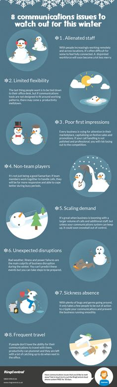 #Infographic: Top 8 #Communications Issues for #Business