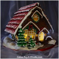 All sizes | Gingerbread House for my son Mark | Flickr - Photo Sharing!