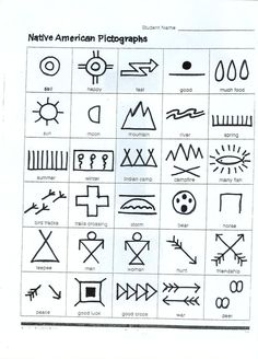 Native American Writing---make up a story with pictures---activity for Pilgrim and Indian unit! Native American Writing---make up a story with pictures---activity for Pilgrim and Indian unit! Native American Lessons, Native American Projects, Native American Symbols, Native American History, American Indians, Native Symbols, Art Indien, Pilgrims And Indians, Cultures Du Monde