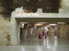 The Tanks wayfinding & signage | Cartlidge Levene