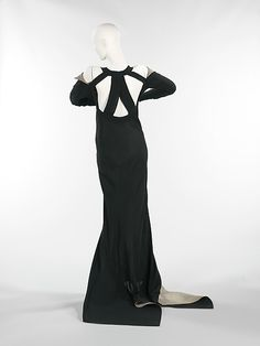 """Phèdre"" Design House: House of Lanvin  Designer: Jeanne Lanvin  Date: fall/winter 1933 Culture: French Medium: silk, metal Accession Number: 2009.300.1365"