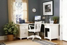 The Most Small Corner Home Office Design Ideas is part of Corner desk office when you are beautifying Business office don& forget about the good assortment of Small Corner Home Office Design Ideas, - Modular Home Office Furniture, Mesa Home Office, Home Office Design, Office Designs, Modular Office, Office Desks Uk, White Desk Office, Ikea Office, Black Desk