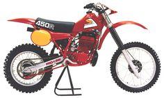 1981- Honda CR450R