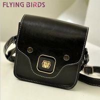 FLYING BIRDS ! nuevos llegan Pequeño mujeres bolso de cuero del bolso de hombro bolsas de mensajero Partido embrague LS1192