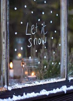 Enjoy it when it snows instead of grumbling about it.