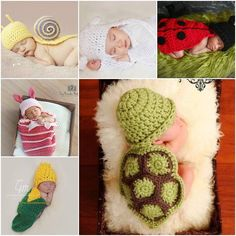 Need some ideas to take some unique photos for your baby? Check out this list for the cutest crochet baby outfits around! You can keep those best memory fo
