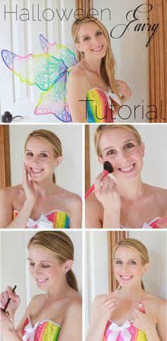 My Halloween Fairy Tutorial with @simpleskincare!