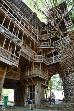 10,000 Square Foot Treehouse TN