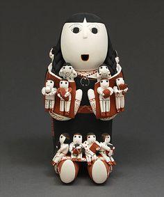 Pottery Storyteller by Vangie Suina (Cochiti)