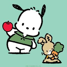 Pochacco with bunny                                                                                                                                                                                 More