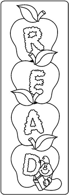 School Clip Art - Espe Escribano - Picasa Web Albums Colouring Pages, Coloring Sheets, Adult Coloring, Coloring Stuff, Diy Back To School, Art School, Bookmark Craft, Bookmarks, Art For Kids