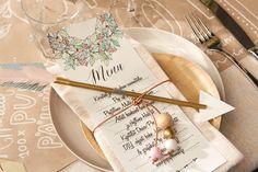 Boho inspired wedding theme/table setting by Pop up kemut   DIY vinkit ja ladattavat @popupkemut.fi