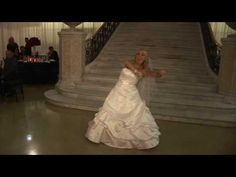 Surprise wedding dance, this is such a fun way to do the first dance :)