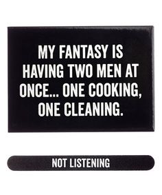 $5.99 marked down from $8! 'My Fantasy' Magnet & 'Not Listening' Nail File #zulily #zulilyfinds