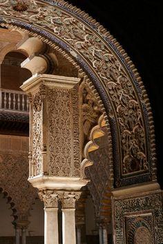 Alcázar de Sevilla (@SevillaAlcazar) | Twitter Foto del día: Real Alcázar de Sevilla. Toda la majestuosidad de la arquitectura mudéjar.