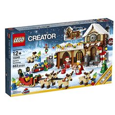 LEGO Creator Expert Santa's Workshop Enjoy the magic of Christmas with Santa's Workshop, a festive addition to the LEGO Winter Village Series! Santa's Workshop Sign, Lego Santa's Workshop, Santas Workshop, Lego Creator Sets, The Creator, Toys R Us, Kids Toys, Lego Sets, Lego Winter Village