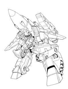 Robotech SOTD by *ratkins on deviantART