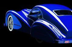Momist : Luxury Guide: THE BLUE CAR