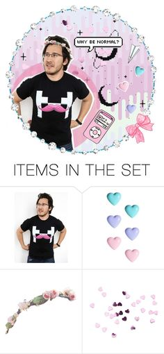 """""""Pastel Markiplier ??!"""" by connedartist ❤ liked on Polyvore featuring art"""