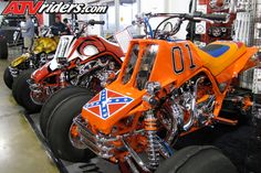 custom banshee | Cascade Innovations would again have their custom quads at this year's ...