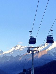 Twitter / Sochi2014: The morning commute to work for the Sochi 2014 Winter Olympians.