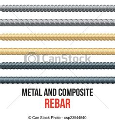 Vector - Endless rebars. Reinforcement steel and composite. - stock illustration, royalty free illustrations, stock clip art icon, stock clipart icons, logo, line art, EPS picture, pictures, graphic, graphics, drawing, drawings, vector image, artwork, EPS vector art