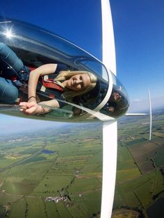 Stunning photo from Oxford Gliding Club