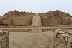 Pyramid with Ramp #1 *  Pre-Columbian monumental site of Pachacamac covers an area of almost 600 hectares and is considered to be one of the most important ancient settlements of the Central Andes. This pyramid with ramp #1 was built by the Ychsma culture between 900 and 1470.  *  Seventeen such pyramids have been identified within the complex