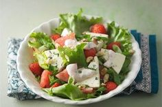The Joy of Remaining and Watermelon Large Salad Bowl, Salad Bowls, Ice Cream Scooper, Watermelon Salad, Kinds Of Salad, Caprese Salad, Feta, Salad Recipes, Meal Planning