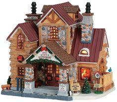Lemax vail village pinterest christmas villages gold and for the