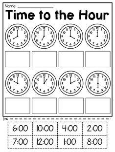 6 Math Worksheets for Kids Grade Time Worksheets for free Math Worksheet for Kids in First Grade Math Worksheets, Free Math Worksheets, 1st Grade Math, Kindergarten Worksheets, Printable Worksheets, Free Printable, Clock Worksheets, Calendar Worksheets, 1st Grade Activities