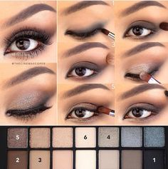 Best Ideas For Makeup Tutorials : Kate V Steps for sparkly smokey eyes using Full Exposure pale… - Smokey Eye Makeup Smokey Eye For Brown Eyes, Brown Eyeshadow, Glitter Eyeshadow, Makeup For Brown Eyes, How To Smokey Eye, Smoky Eye, Glitter Makeup, Eye Makeup Blue, Eye Makeup Tips