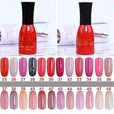Tint 1 Bottle Soak-off Lack UV Colorful Gel Polish No.25-48 (15ml,Assorted Colors) ** You can find more details by visiting the image link.
