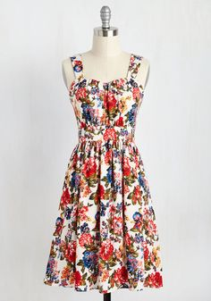 Belles in Your Courtyard Dress