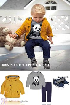 Dress your little man in quality and style at www.kidswithstyle.com