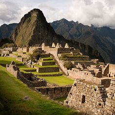 """Machu Picchu, Equador""   There's just so much to take our visitors to see in Equador."