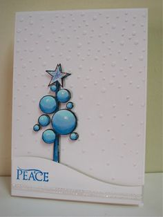 Muse: Muse Challenge #41 - love this Hero Arts holiday card by Janet Ribet! So glad I bought that snow embossing folder, delightful!