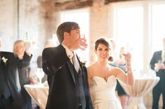 |Champagne Toast| www.thestockroomat230.com #thestockroom #thestockroomat230  #downtownraleigh #weddingvenue  #reception #raleighweddingvenue